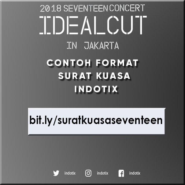 Indotix On Twitter Berikut Contoh Surat Kuasa Seventeenidealcut