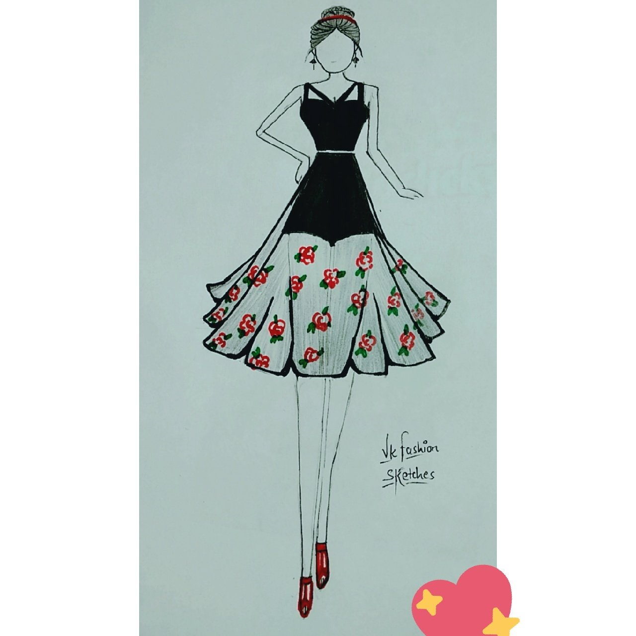Vk Fashion Sketches On Twitter Women Who Wear Black Lead Colorful Lives Fashion Clothes Fashionnova Artist Colthing Designing Designs Designer Colouring Creative Indian Indianwear Fashionable Fashionillustration