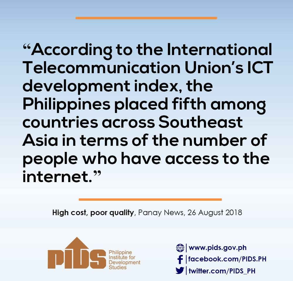 Pids Ph On Twitter Pidsinthenews High Cost Poor Quality