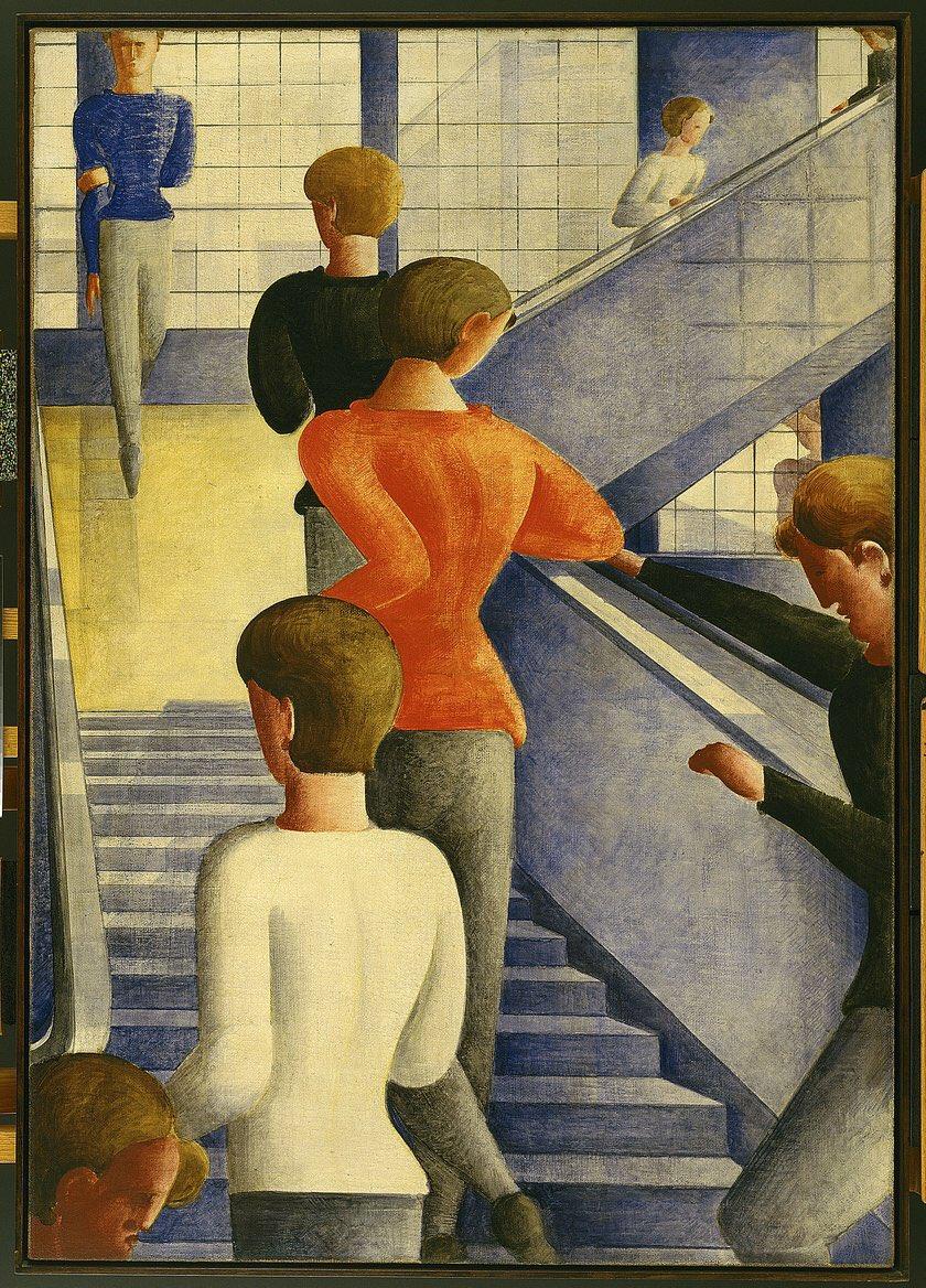 「オスカー・シュレンマー 絵画」の画像検索結果