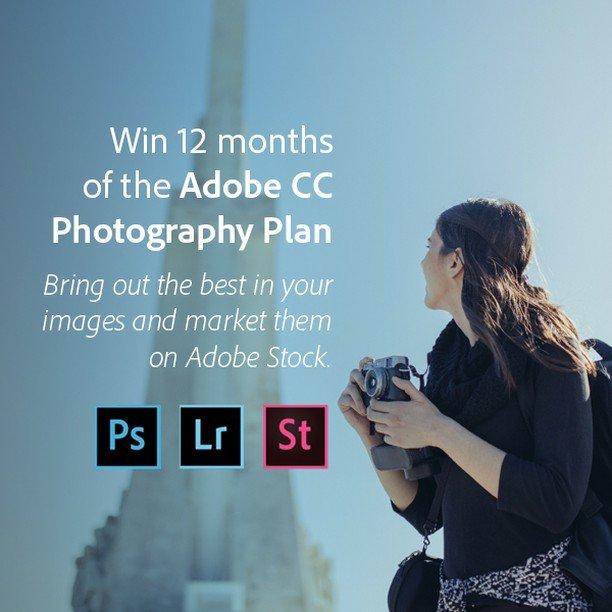 adobe creative cloud photography plan (12 month subscription)