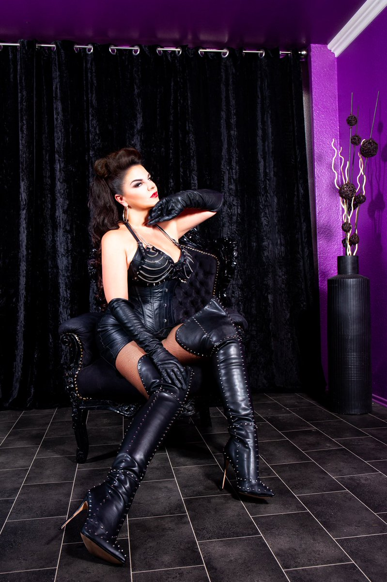 Shegod leather sluts