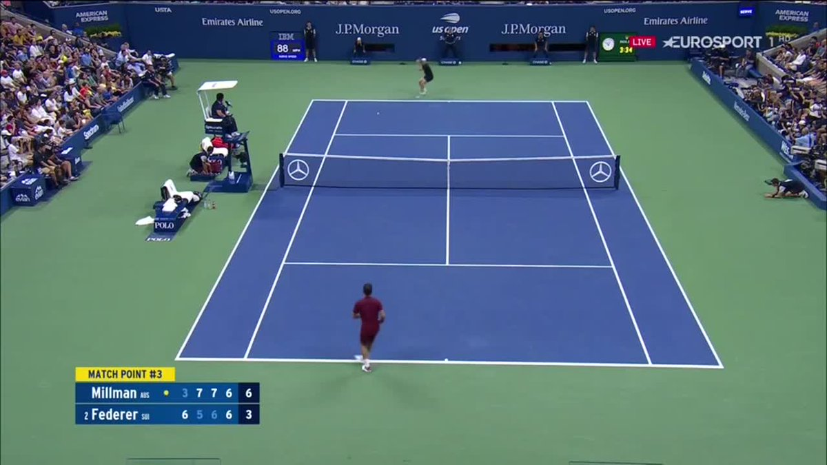 Eurosport IT's photo on #Federer