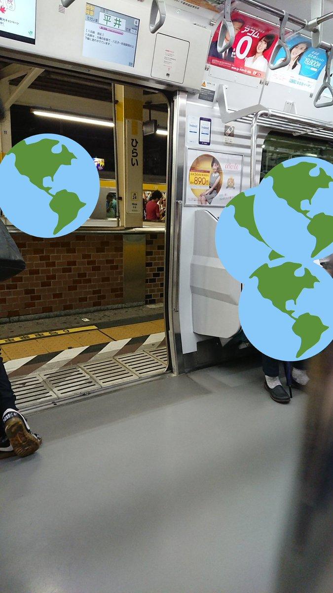 平井駅で人身事故が起きた現場の画像