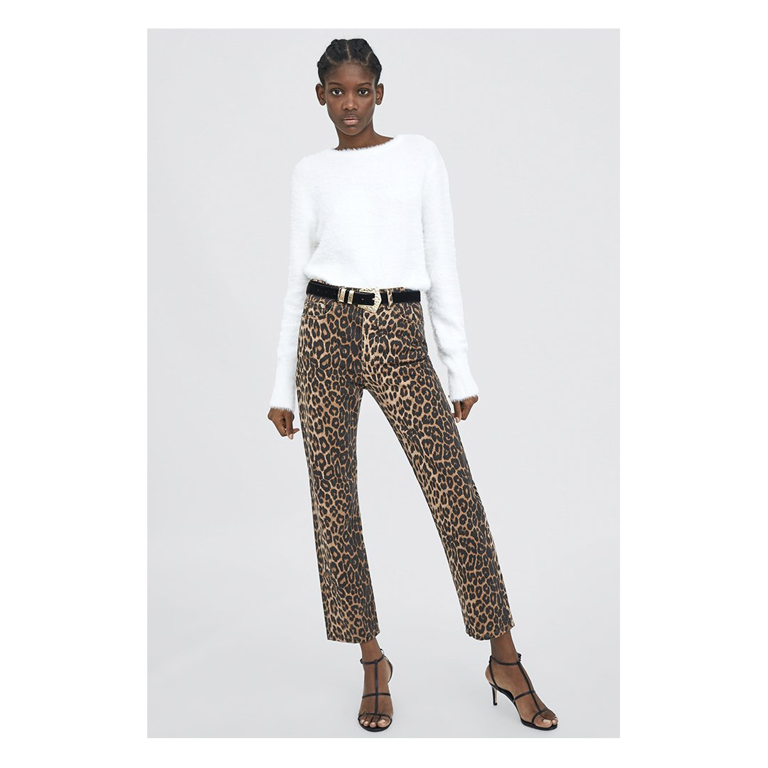 b83e51e3 Use leopard print jeans to achieve the seasonal look on statement pieces  https://go.zara/leopardjeans_t pic.twitter.com/lC7JaSs0Ki