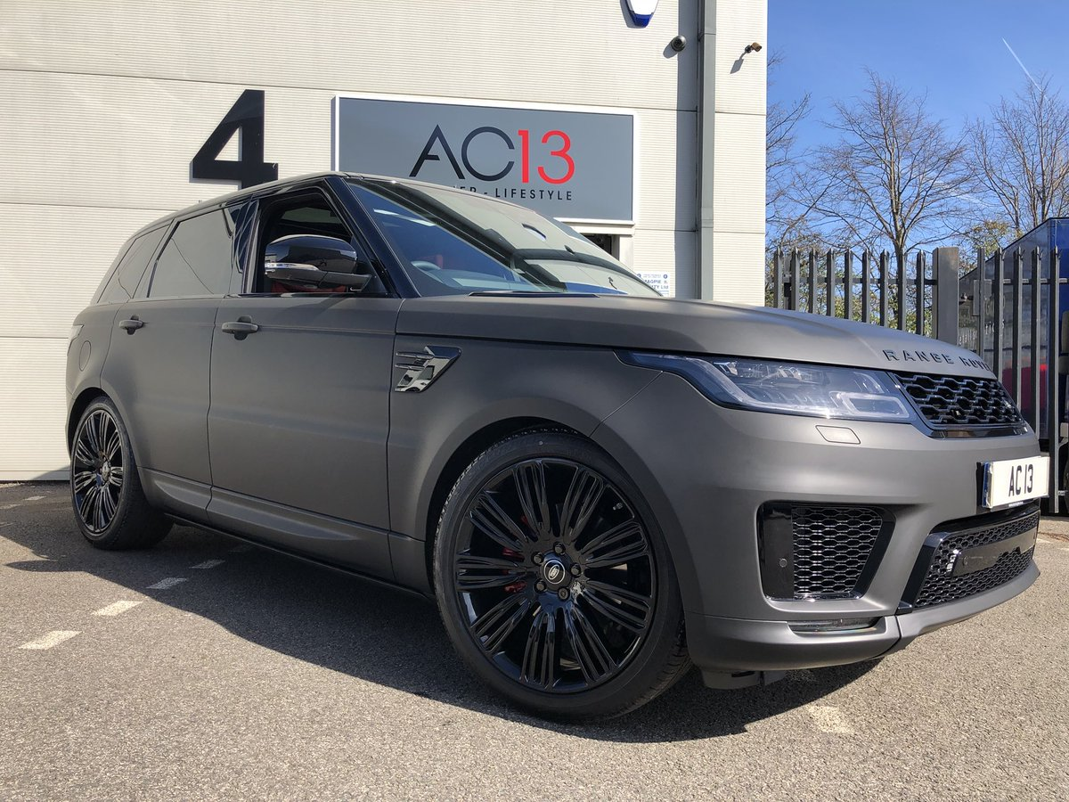 Ac13 Premier On Twitter Range Rover Sport Being Wrapped