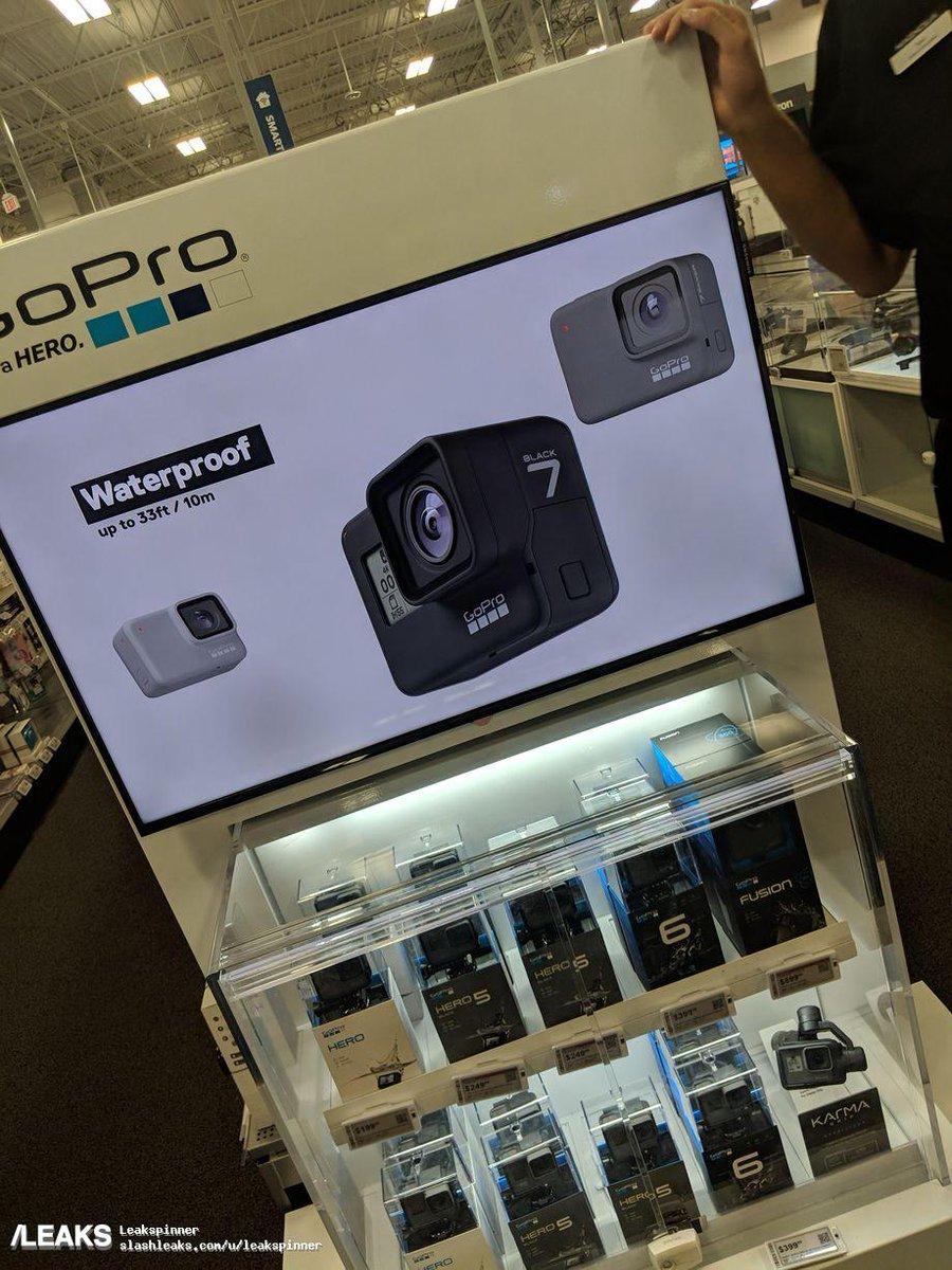 Leaks On Twitter Gopro Goprohero7 Gopro Hero 7 Camera Spotted On Best Buy Store Display Https T Co Fzhoa2rtbs