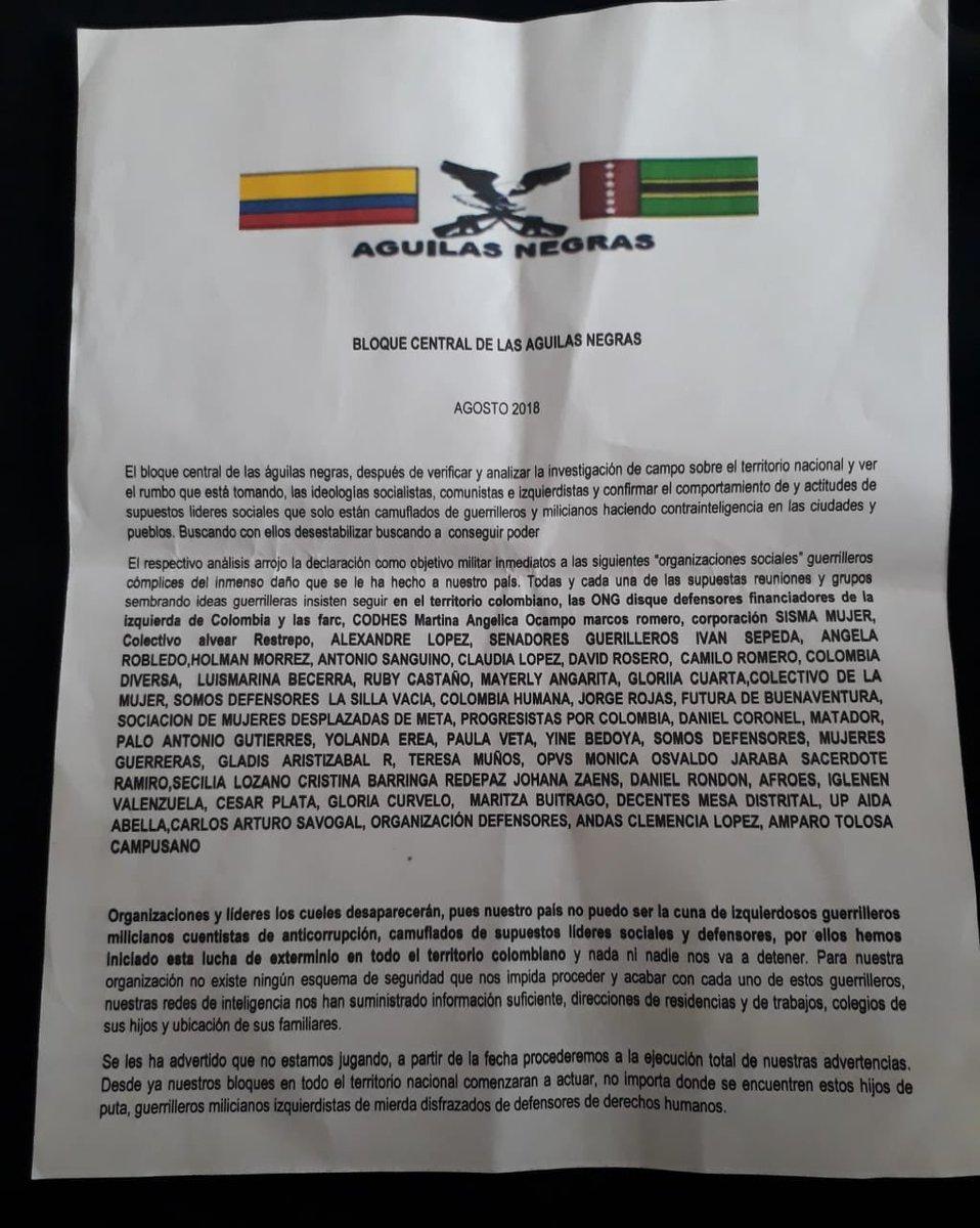 Colombia - Conflicto Interno Colombiano - Página 9 DmQ4jCJX0AAzvmJ