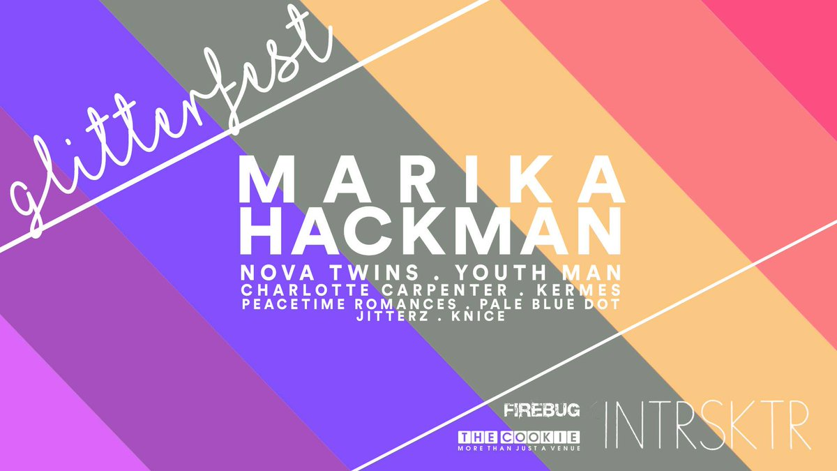 ... Leicester's queer punk festival this Saturday! The finest, loudest and  shiniest underground music featuring @MarikaHackman @NovaTwinsMusic  @youthmanband ...