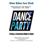 Image for the Tweet beginning: Dance Party Weekend!   #GlenEdenSunClub #NudistResort #NudeRecreation #DanceParty