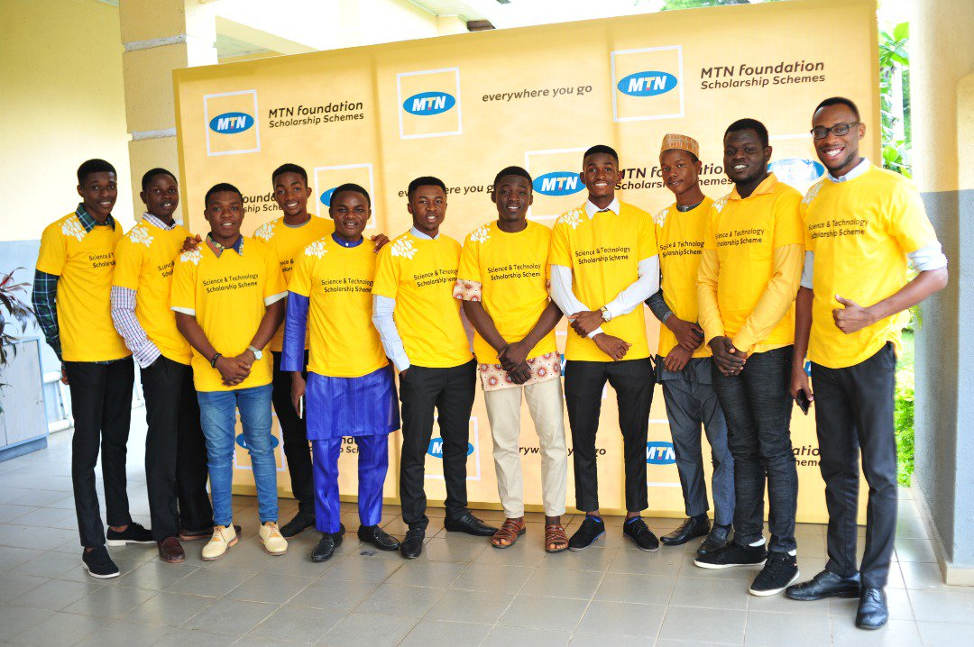 Checkout Some of the new awardees of MTNF science and technology scholarship scheme 2018.  Since 2011 @MTNNG has provided over 8000 scholarships to indigent, blind and exceptional Nigerian students worth more than 1.6 billion naira. #MTNFScholarships2018 https://t.co/rYxugDon0b