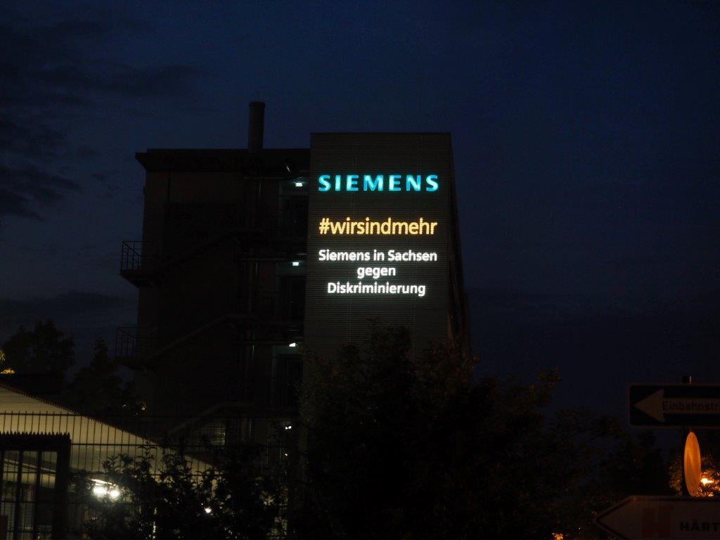 Foto auf Twitter-Kanal von Siemens (4. September, verlinkt)