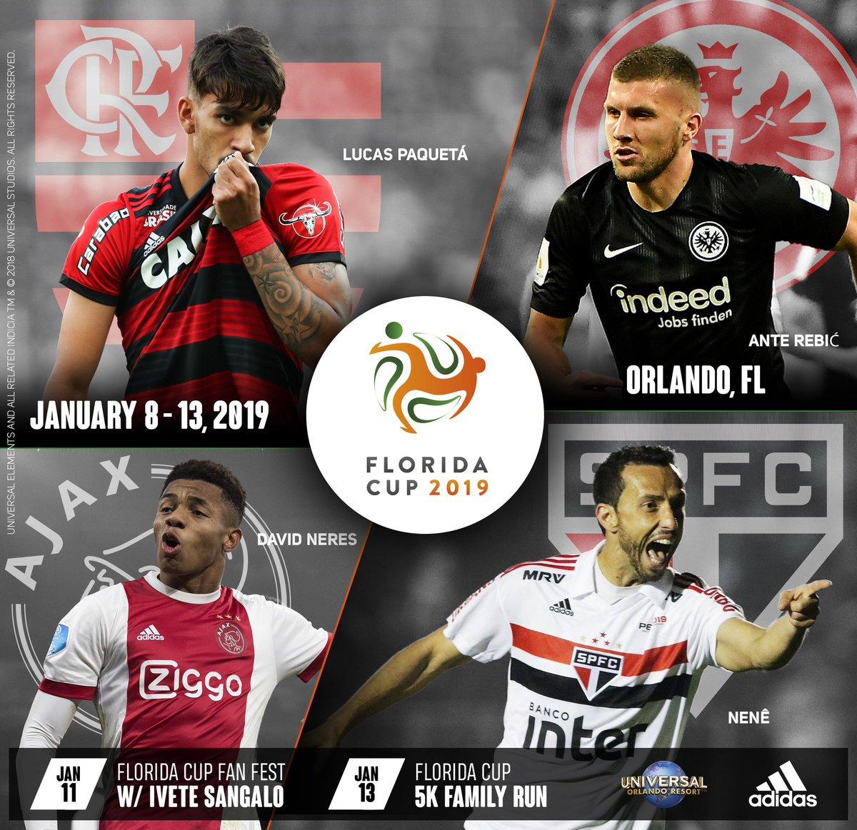 629d50d19a Organização confirma participação do Flamengo na Flórida Cup
