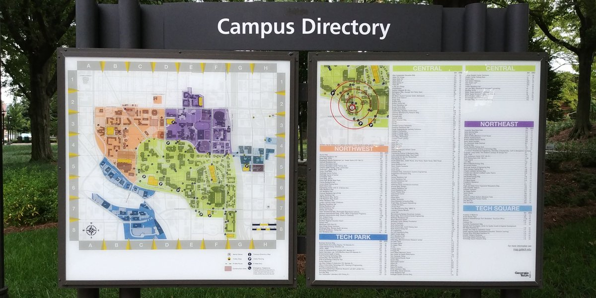 Map Of Georgia Tech Campus.Georgia Tech College Of Engineering On Twitter Having Trouble
