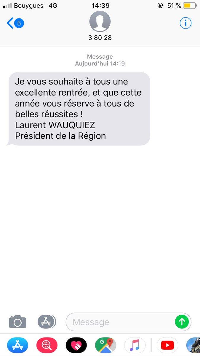Laurent wauquiez accus d 39 avoir utilis un fichier administratif pour envoyer des sms aux - Envoyer 100 sms d un coup ...
