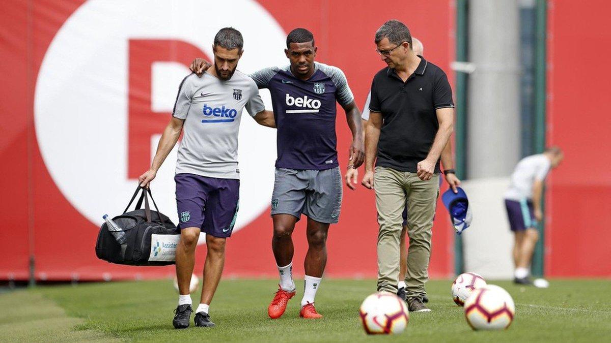 dc7322c3b738d Malcom torce tornozelo e deve ficar fora dos treinos do Barça por uma  semana  https