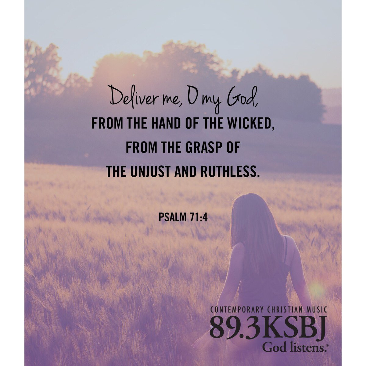 ksbj on twitter lord be my defender psalm 71 4 ksbjdailyhope defender psalm 71 4 ksbjdailyhope