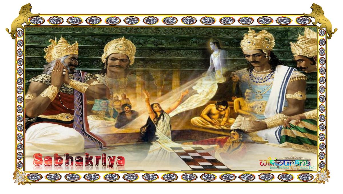 Sabhakriya Mahabharata Story
