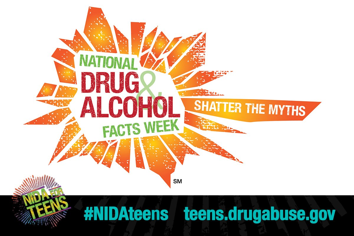 Save the date! National Drug and Alcohol Facts Week® (NDAFW) is January 22–27, 2019. Register your #NDAFW event and receive free resources to help with planning: https://t.co/B0zVtUdiEi   #NIDAteens