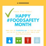 Image for the Tweet beginning: September is Food Safety Education