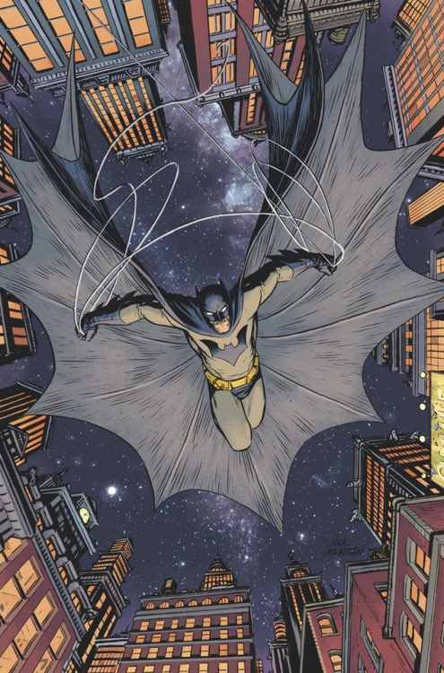 Fellow nerdy types, I got my hands on a copy of Batman (Walmart edition) by @BRIANMBENDIS and @NickDerington. It is transcendently good. Maybe my favorite single issue I've read all year. Damn. I got to up my game.