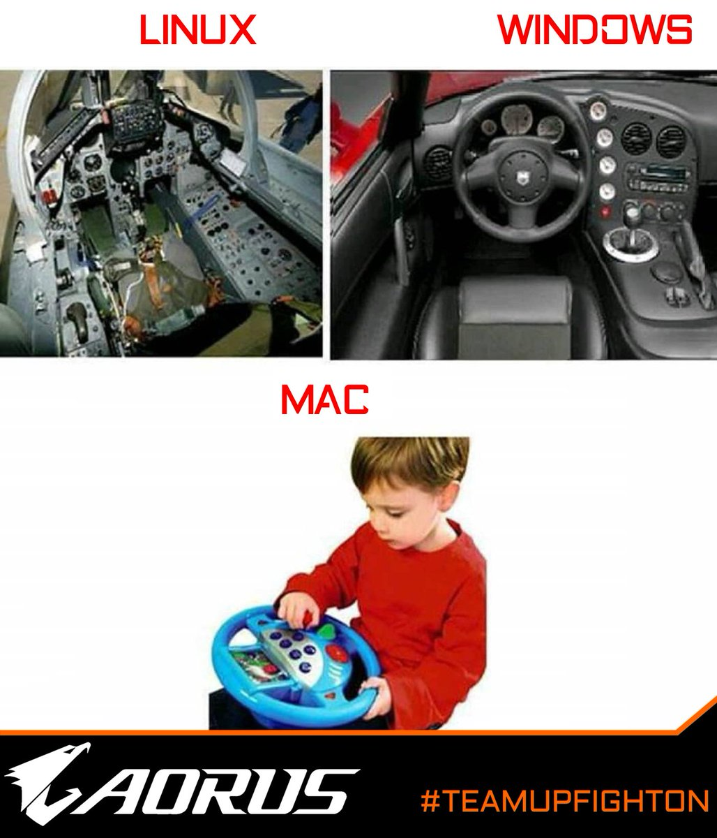 Image result for linux windows macos car