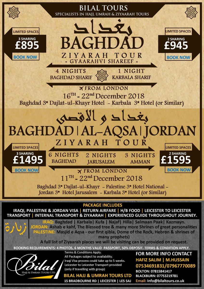 Bilal Hajj & Umrah Tours on Twitter:
