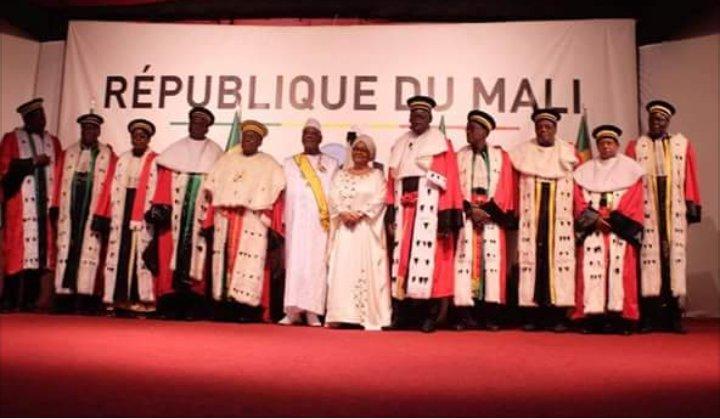 Cérémonie de préstation du président de la République Ibrahim Boubacar Keita #iBK.   #IBK2018 #PresidentielleMali2018 #Koulouba2018 @ocisse691 @thiernobaz @TigressePocahon @trgao123 @JigiAfrica @Bambakeleti @patrie_le
