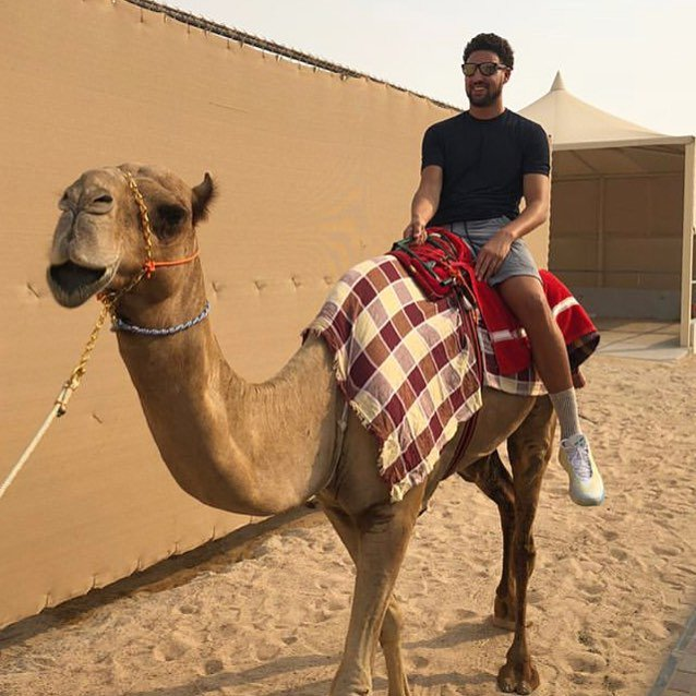 Picture of his Camel   car