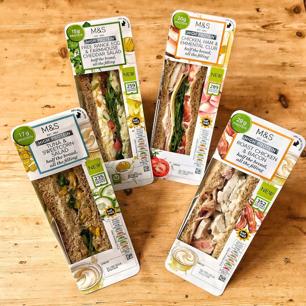 Ms On Twitter Our New Healthy High Protein Sandwiches Are