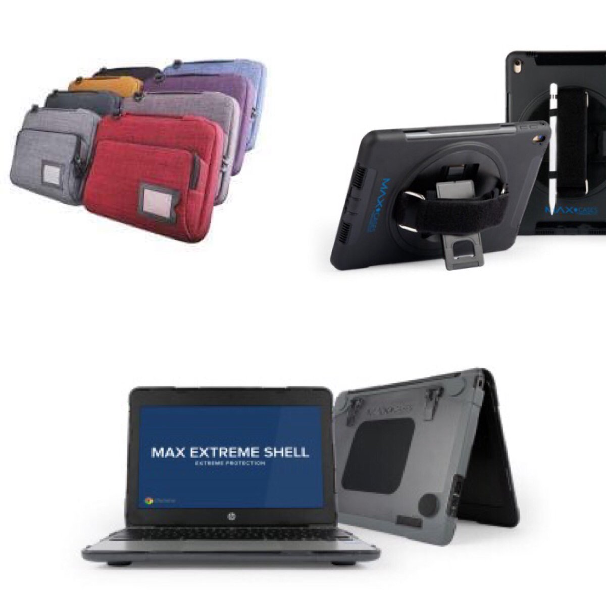 Looking to protect your #classroom or #business mobile devices? We have you covered! Great selection of protective cases and FREE logo printing from #Nutkase Call 866 926 1669 😊💻 #encoredataproducts #education #purchasing #procurement #STEMDirector #curriculumdirector #maxcases https://t.co/ucIzIXt7kB