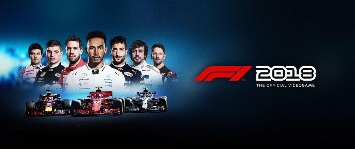 ¡Sorteo un #F12018! Plataforma PC o PS4. El sorteo es propio por lo que solo tenéis que seguir 2 pasos: 🔘 Dale RT a ESTE twet 🔘 Sígueme en Twitter 🗒 Fecha límite para participar: 8 de Septiembre 🏆 Día que diré el ganador: 9 de Septiembre Venga... Oportunidad única 😏🤙