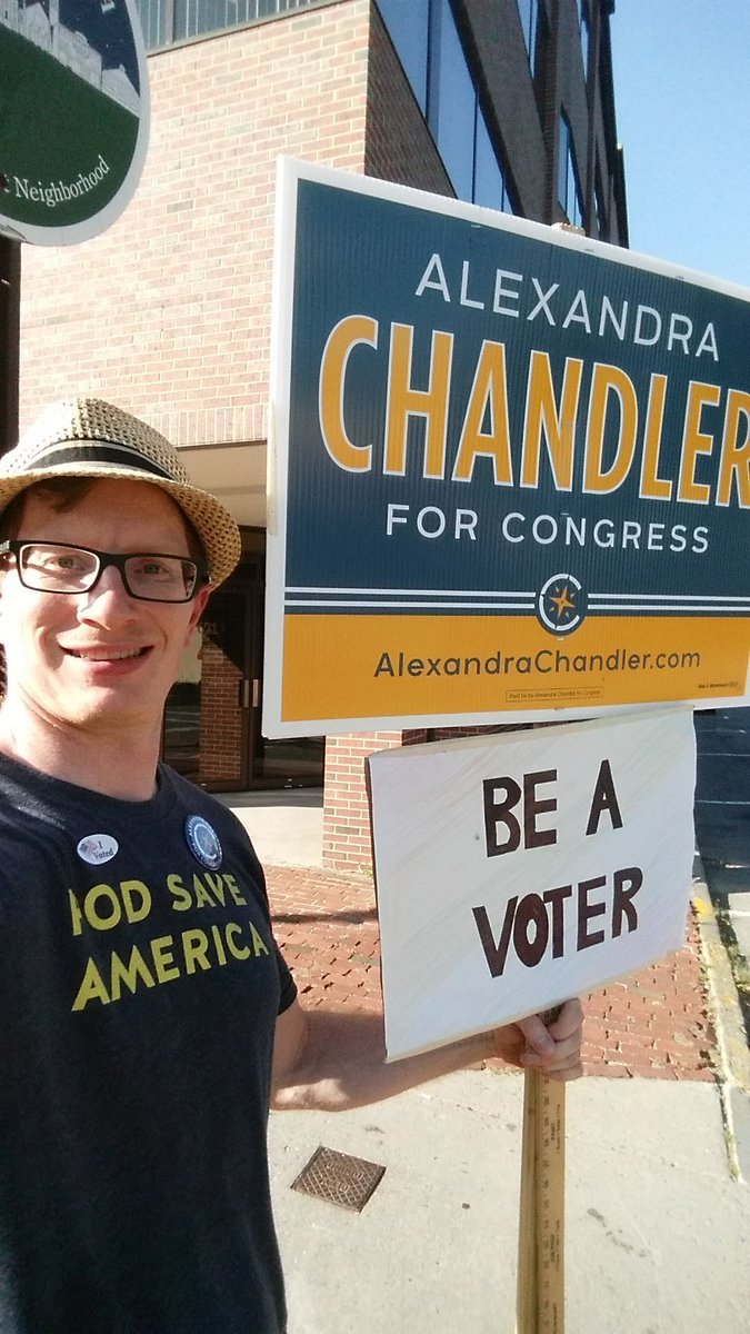 Started the day in Concord. Ended in Fitchburg. Go @a_chandler!