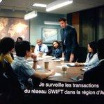 Quand #JackRyan décrit son poste à la CIA en parlant de #Swift : fiction ou réalité ?