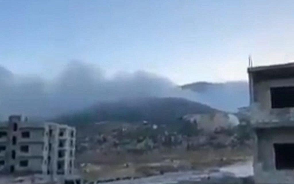 ВКС РФ сегодня днем наносили мощные авиаудары по Идлибу