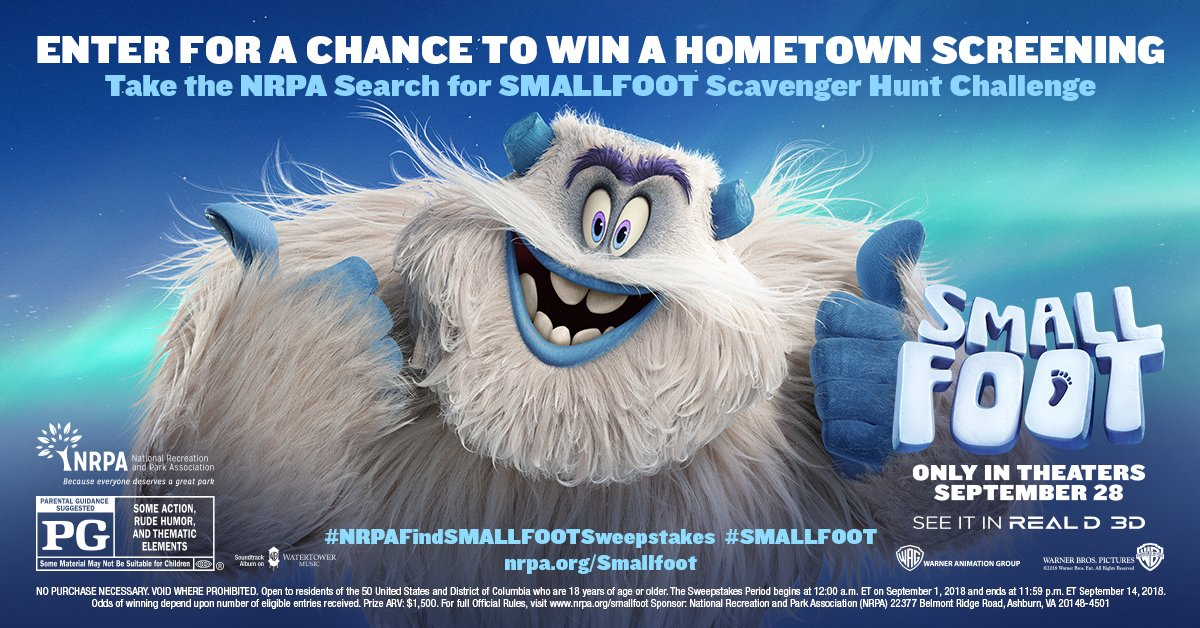 e0c279826059 nrpafindsmallfootsweepstakes hashtag on Twitter