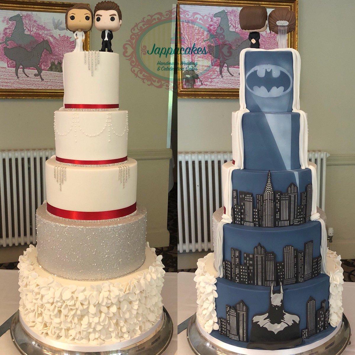 Batman Wedding Cake.Jappacakes On Twitter Batman Wedding Cake