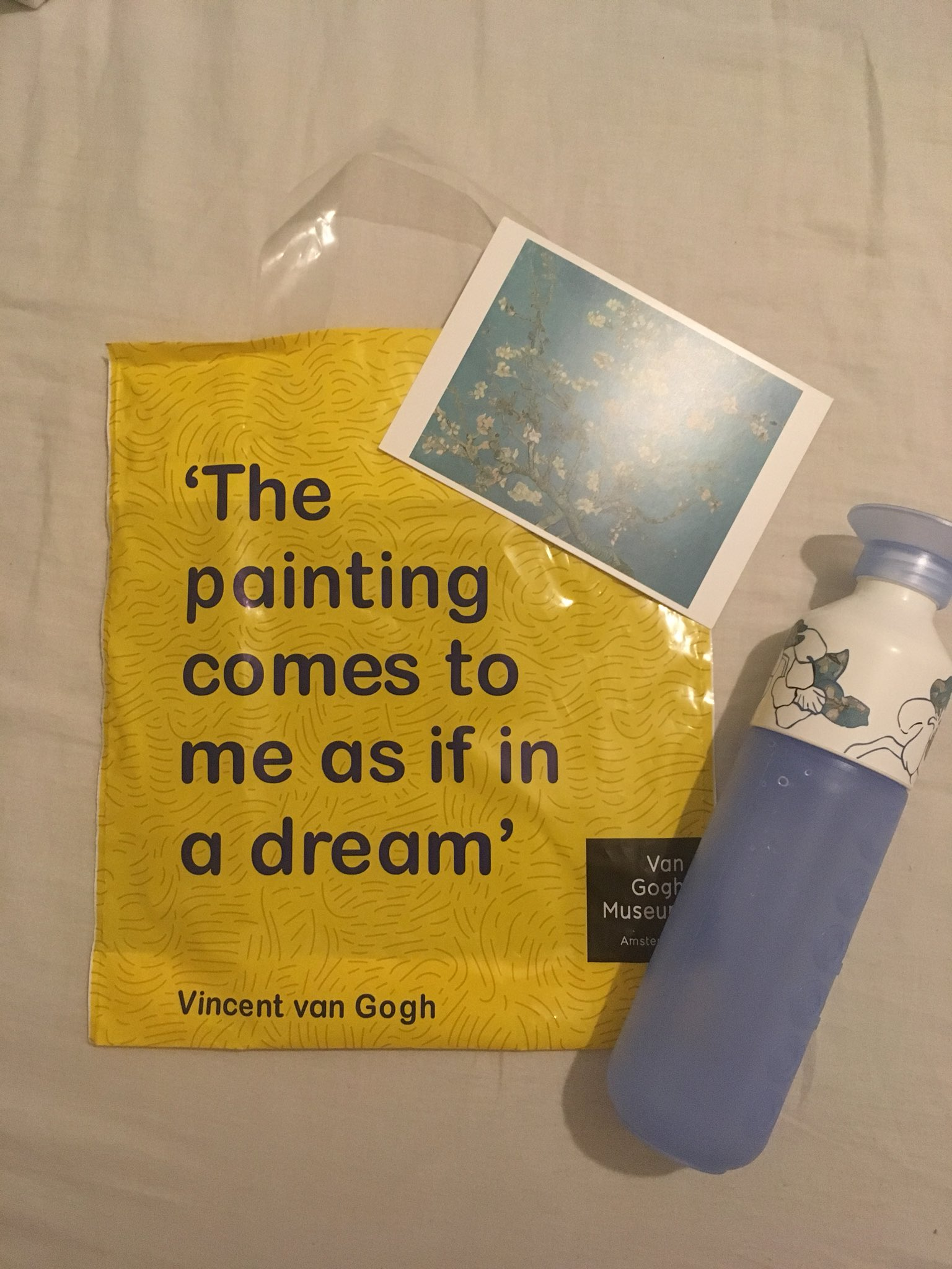 Sel Is Seeing Bts On Twitter Anyways I Went To The Van Gogh Museum Shop Today And I Bought This Almond Blossom Dopper And Some Postcards Of My Favorite Paintings Including Almond