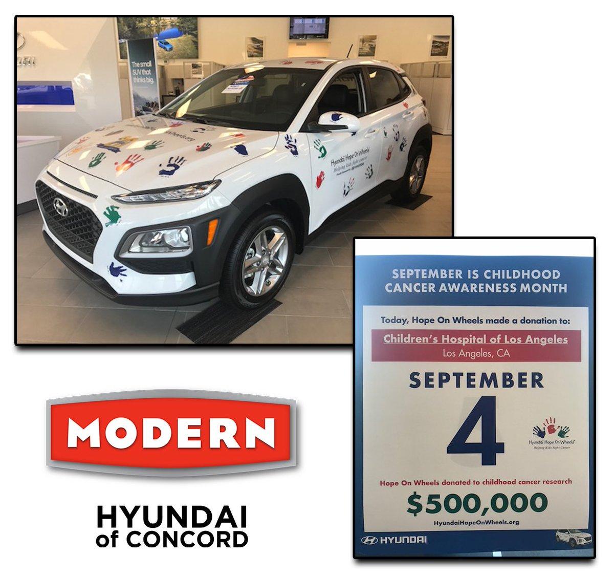 Hyundai Hope On Wheels Is In Full Effect At Modern Hyundai!! Hyundai Makes  A Difference!! #modernauto #modernmakesadifference #hyundai #concordnc # Concord ...