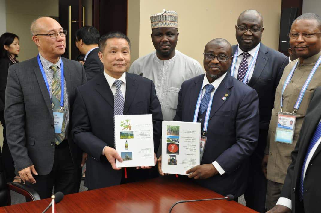 JUST IN:FG, Chinese Consortia Sign MoUs on Biofuels Production