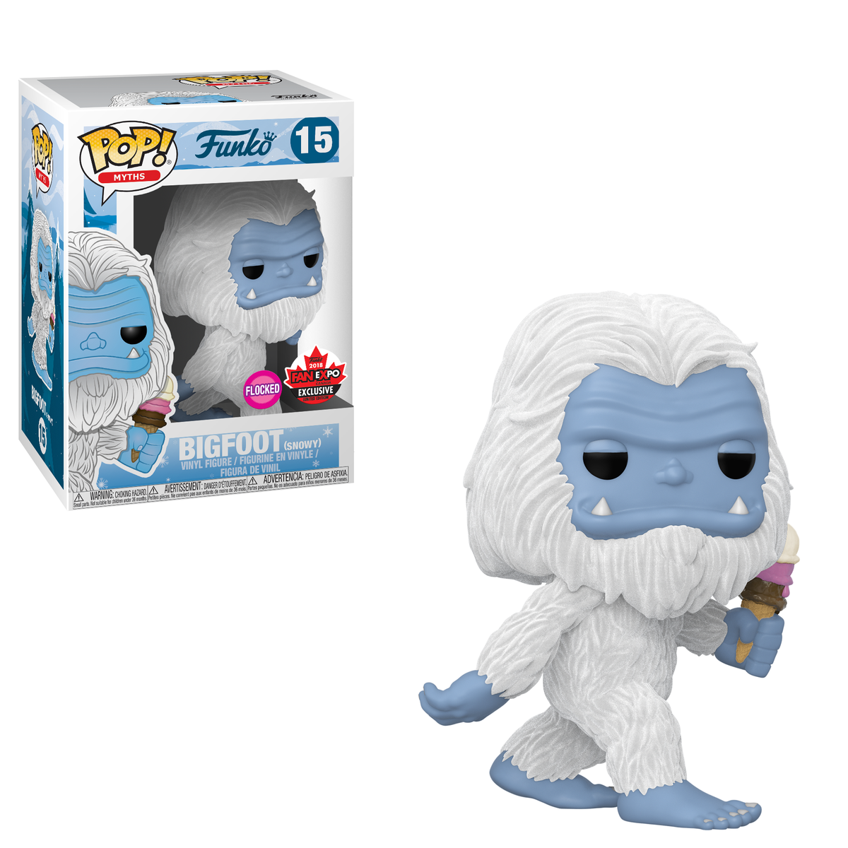 RT & follow @OriginalFunko for the chance to win a @FANEXPOCANADA exclusive FLOCKED Bigfoot Pop!