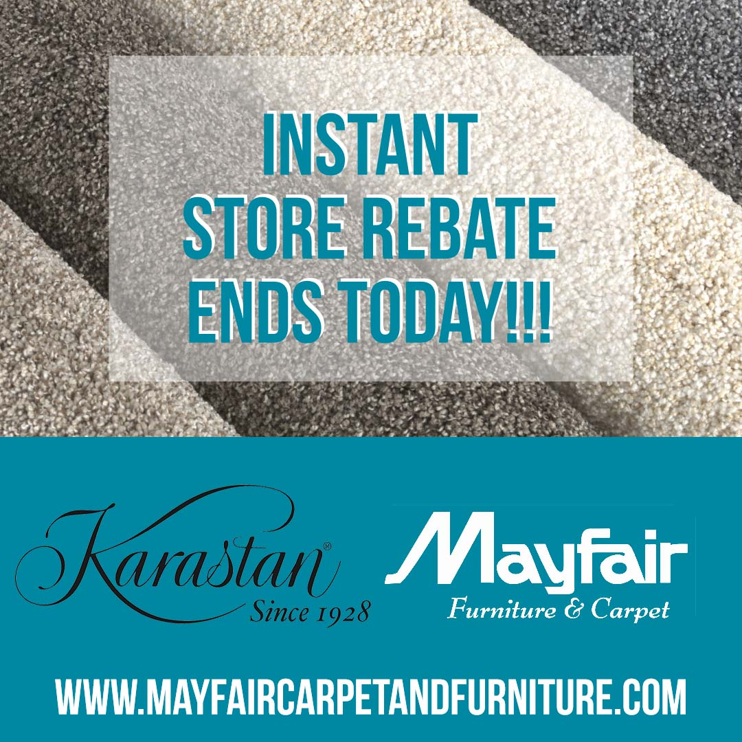 Last Day For Instant Store Rebate! Instant In Store Rebate Ends Today At @
