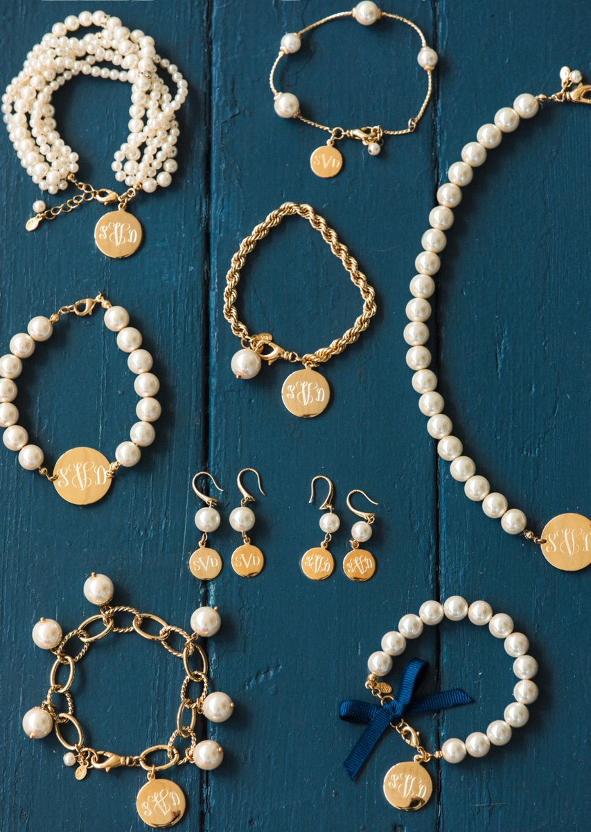 New Post: The @KJP Pearl Monogram Collection classygirlswearpearls.com/2018/09/the-pe…