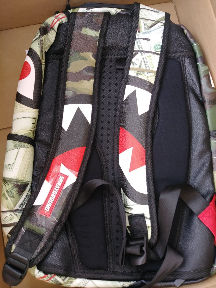 489a063644e1 Jarvis Landry Camo Shark Backpack