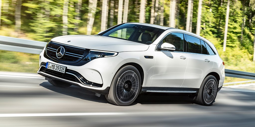 Introducing the first fully electric Mercedes-Benz EQC. Start your charging stations. #switchtoEQ