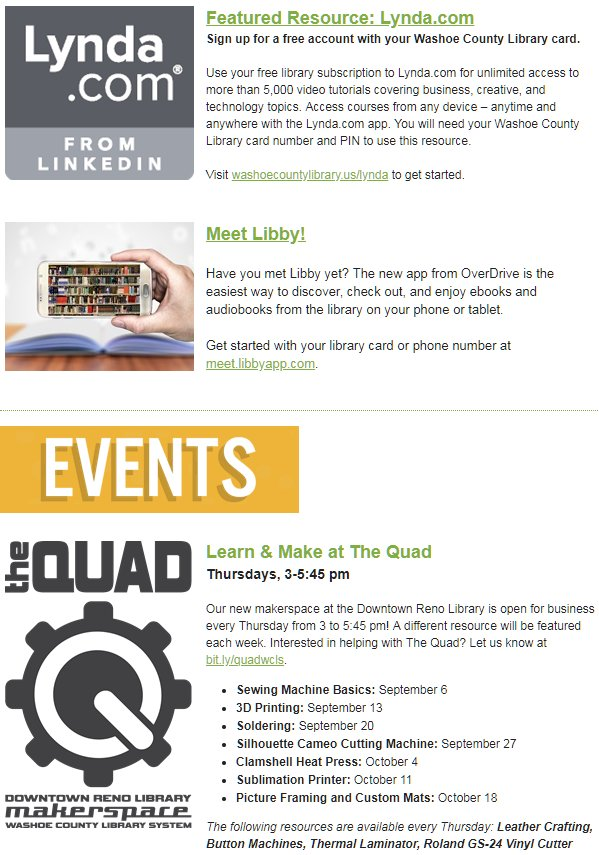 Library News And Events Updates Every Month Showing You The Best Libraryaware 1687 Subscribers Subscribe