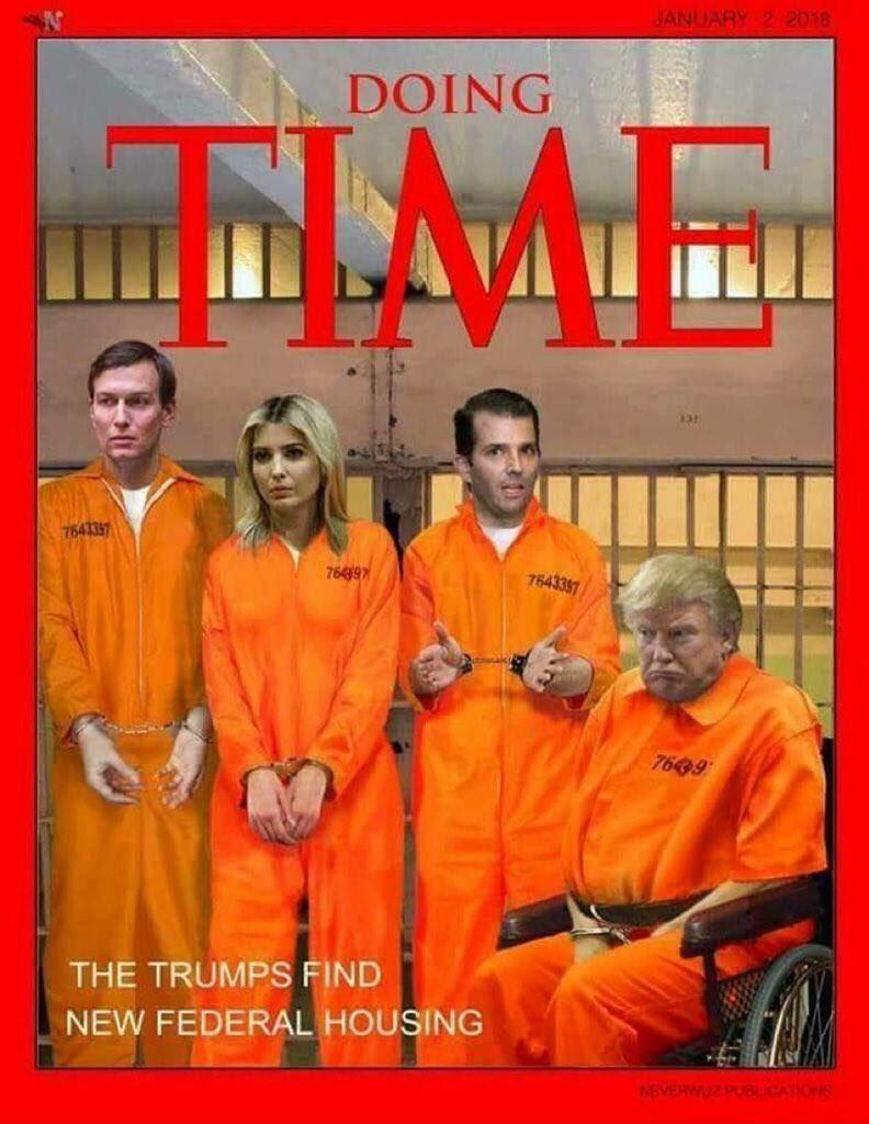 Image result for trump in orange jump suit photos