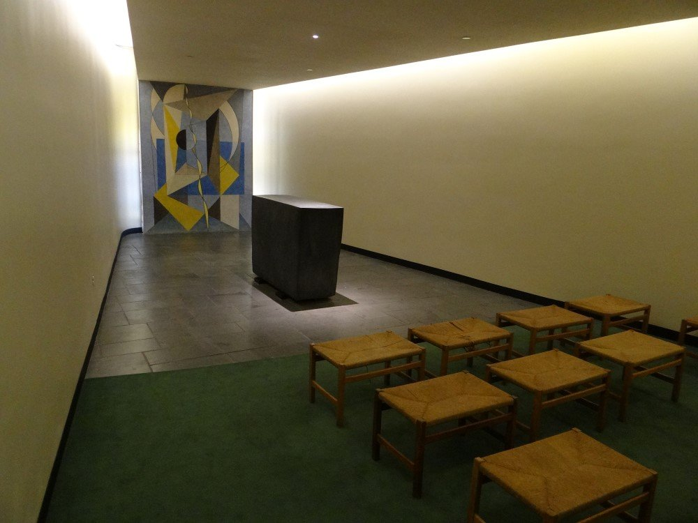 Phenomenal Cursed Modernist Images On Twitter The Prayer Room In The Download Free Architecture Designs Crovemadebymaigaardcom