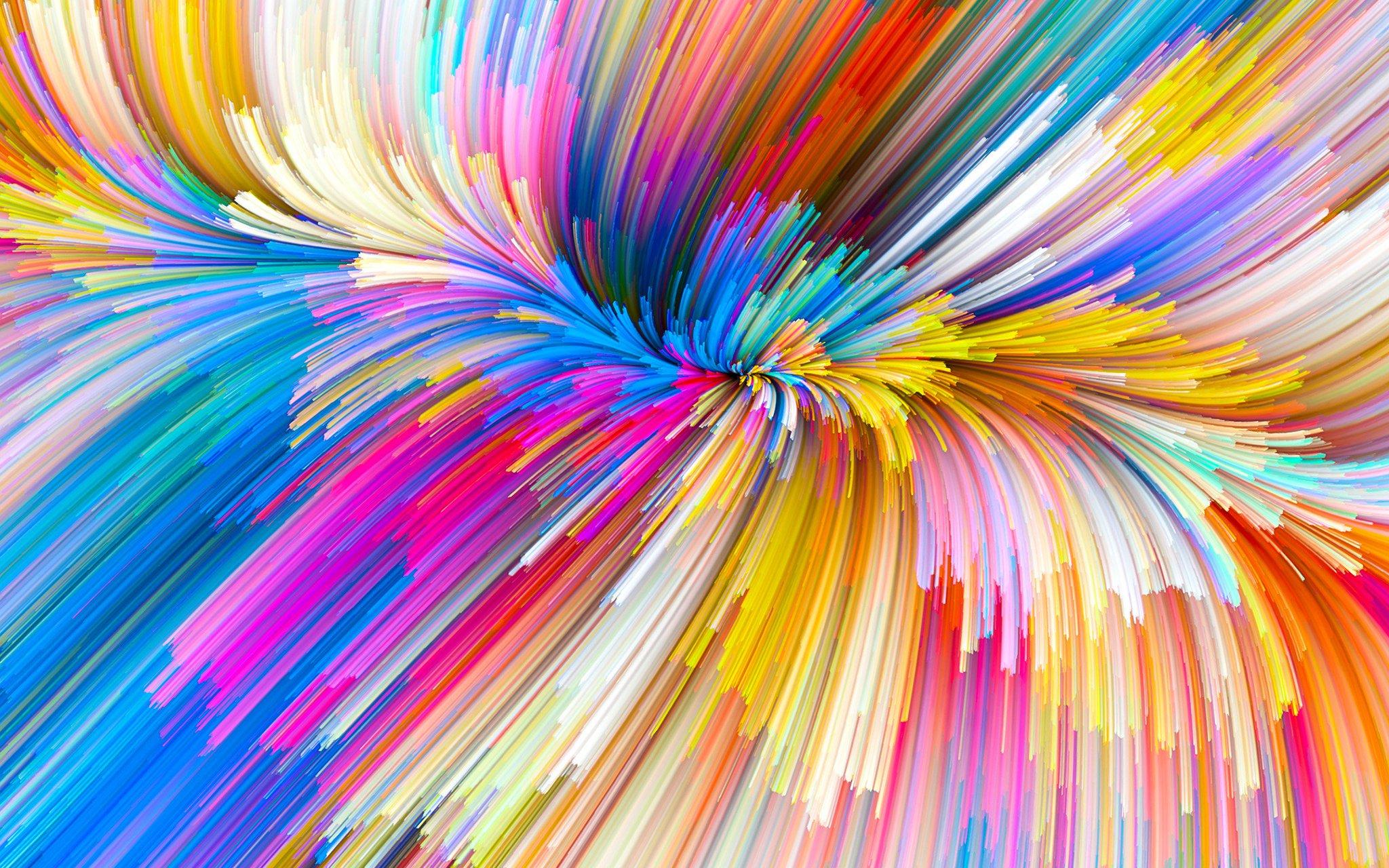 очень цветовая радуга картинка принесёт каждый