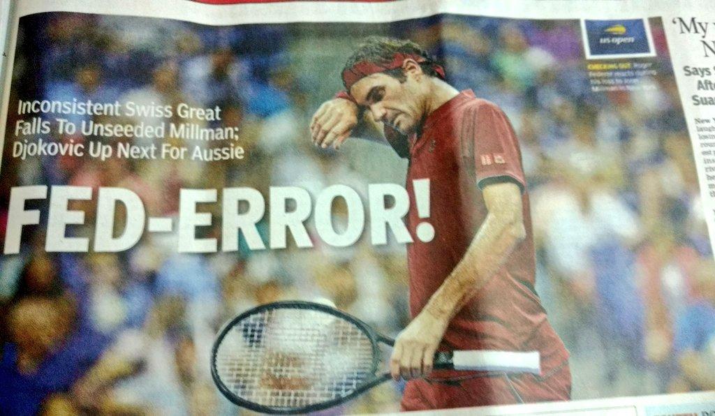 Krishnan's photo on #Federer
